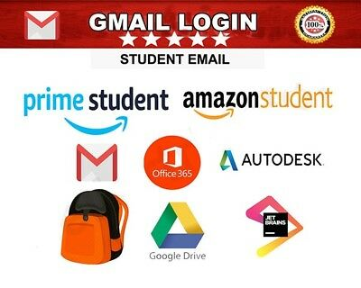 EDU Email Unlimited Google Drive +FREE 6 Months Amazon Prime Fast Delivery