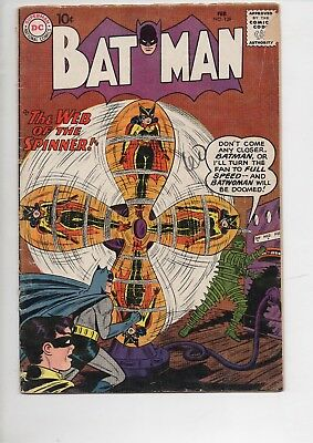 BATMAN #129 comic book from 1960/Origin of Robin/Batwoman story/70% OFF GUIDE!