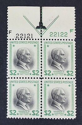 CKStamps: US Stamps Collection Scott#833 $2 Mint NH OG, Selvage LH, Gum Skip