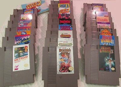 Lot of 23 NES Video Games for the Nintendo Entertainment System