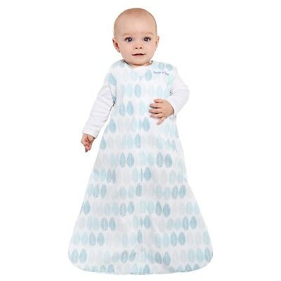 Halo Sleepsack for Infants, Aqua Color Sz Small