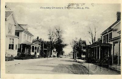 1923 Residential View/Cherry St. - St. Michael's, Maryland  MD