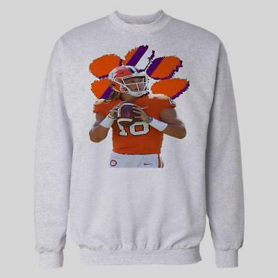 Clemson Tigers Trevor Lawrence Heisman Champion Mens Sweatshirt *Many Options*