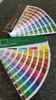 PANTONE 4-COLOR PROCESS GUIDE Solid Coated & Uncoated *NO FADING*