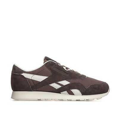 f860f33dd6f MENS REEBOK CLASSICS Mens Classic Nylon SKTN Trainers in Brown - UK ...
