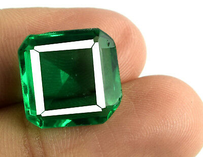 100% Natural Emerald Cut 8.25 Carat Muzo Colombian Emerald AGSL Certified E4976