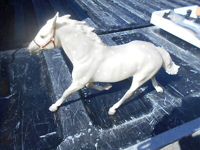 Old Breyer horse Pacer Laag standardbred grey dapple limited edition 9984/10,000