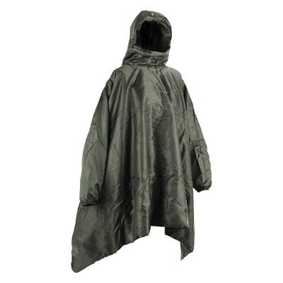 Snugpak 45°F / 36°F Over-the-Head Insulated Poncho Liner for all Ponchos, Olive