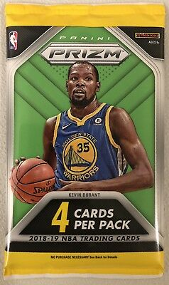 SILVER PRIZM REFRACTOR! Parallel Hot Pack 2018-19 Panini Prizm NBA Basketball