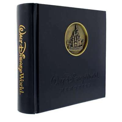 Disney Parks Cinderella's Castle Medallion Photo Album Holds 200 Pictures New