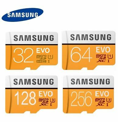 SAMSUNG 32GB 64GB 128GB 256GB Micro SD Micro SDXC lot Class10 TF Flash Card EVO