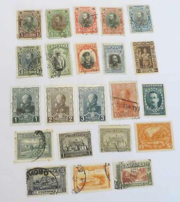 Bulgaria 1901 - 24 small collection most used