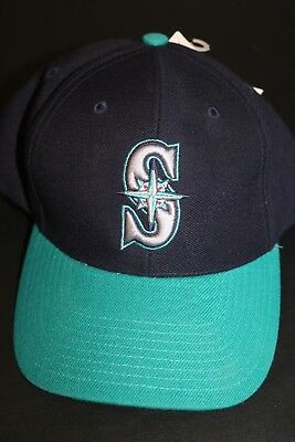 VINTAGE SEATTLE MARINERS TWINS ENTERPRISE MLB BASEBALL HAT CAP One Size 9a047be92b04