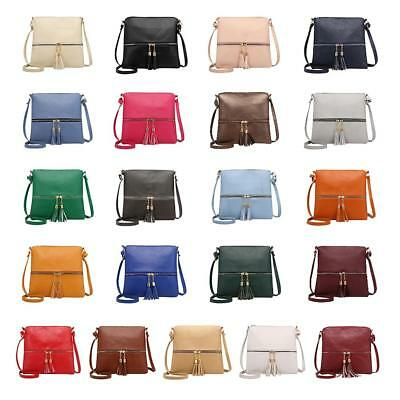 Women Shoulder PU Leather Handbags Messenger Bags Crossbody Purse Satchel Clutch