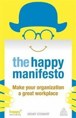 NEW The Happy Manifesto By Henry Stewart Paperback Free Shipping