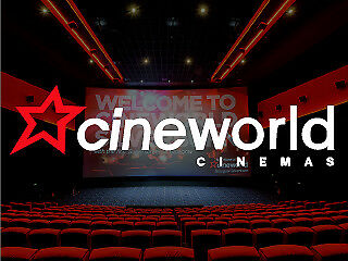 Cineworld Adult Ticket for All 2D Shows