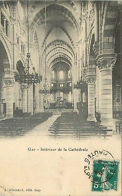 Cp Gap Interieur Cathedrale