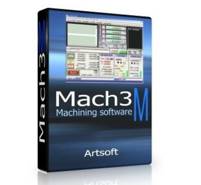 Mach 3 ArtSoft CNC Software Control Mill Lathes Engraving ⭐Lifetime License⭐