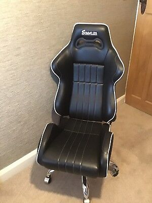 Snap On Office Cobra Chair in Black Excellent Condition really cool chair SNAPON