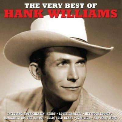 Hank Williams ~ Very Best of / Greatest Hits NEW 2CD Country And Western Music