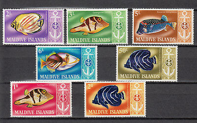 MALDIVE islands fish set 1967 SG CV 19£ 24$