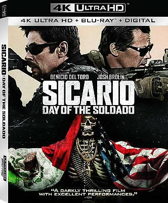 Sicario: Day of the Soldado (4K Ultra HD Blu-ray Disc ONLY, 2018)
