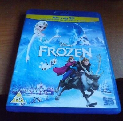 Used Frozen blu-ray 3D/2D version in VGC.