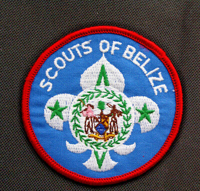 National Pfadfinder Abzeichen /Boy Scout Badge membership Patch Scouts of Belize