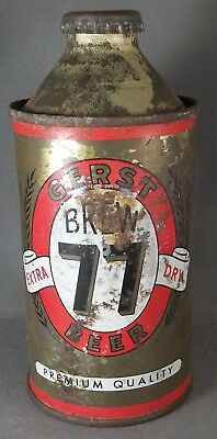Gerst Beer Brew 77 Extra Dry cone top beer can TN