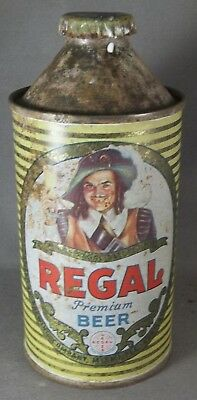 Regal Premium Beer cone top beer can FL