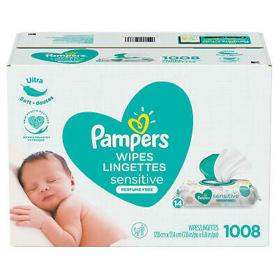 Pampers Sensitive Baby Wipes, 1024 Ct. **Free Shipping ***