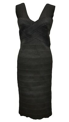 9a80f8e2 BRAND NEW PHASE Eight / 8 Gigi Bandage dress in black Size 16 ...