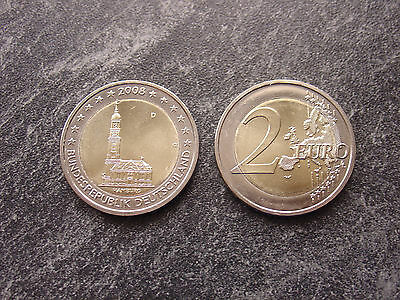 2 Euro Deutschland Hamburger Michel 2008 D
