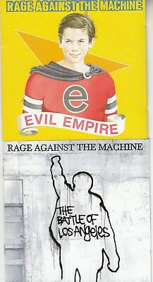 RAGE AGAINST THE MACHINE - 2 X CD Albums