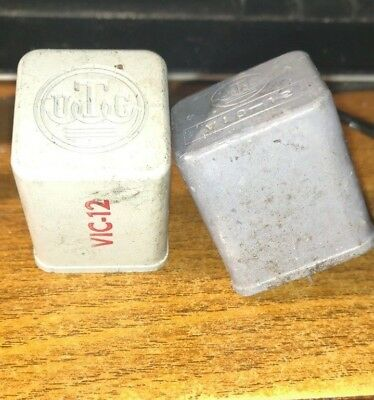 Utc Vic 12  Vintage Audio Variable Inductors