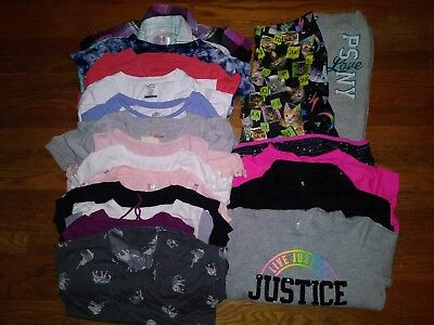 20 pc mix & match girls Clothes lot size: 12, 14, & 14/16 GUC-EUC