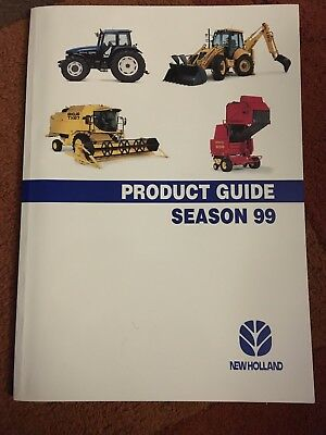 New Holland worldwide full-line combine tractor brochure catalogue (Massey Ford
