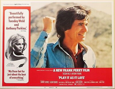 Play It As It Lays 1972 Tuesday Weld Anthony Perkins 4 Original US Lobby Cards