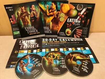 Core De Force Mixed Workout Martial Arts Dvd Box Set Fitness Christmas Present
