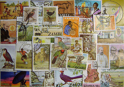 Zambia 70 Different Used