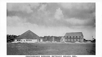 F4/ Bethany Beach Delaware Postcard c1940s Conference Ground