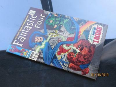 Fantastic Four #65 - HIGHER GRADE - MARVEL  1967 - 1st app Ronan - Stan Lee!