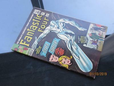 Fantastic Four #50 - HIGHER GRADE MARVEL  1966 - Silver Surfer!