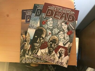 The Walking Dead graphic novels volumes 1-3