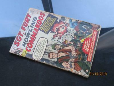 St. Fury  #1 MARVEL 1963 - Sgt Fury and His Howling Commandos!