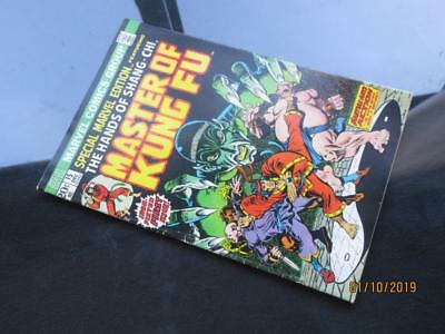 Special Marvel Edition  #15 MARVEL 1973 -  1st app Master of Kung Fu!