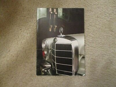 Mercedes Benz  600 Grosser Sales Brochure from 1967 to 1971   NEW just FOUND