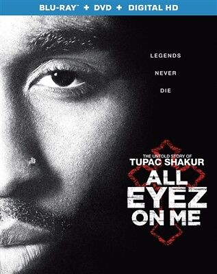 ALL EYEZ ON ME New Sealed Blu-ray + DVD Tupac Shakur