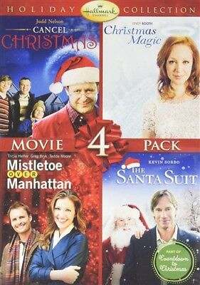 HALLMARK HOLIDAY COLLECTION VOLUME 2 New DVD Cancel Christmas Magic Santa Suit