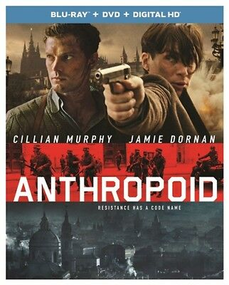 ANTHROPOID New Sealed Blu-ray + DVD